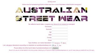 Australian Street Wear Online Shop