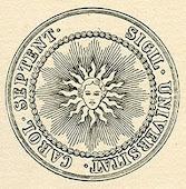 UNC Seal, 1791
