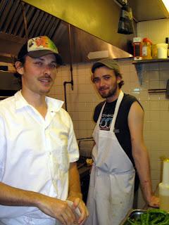 Line cooks John & Jesse