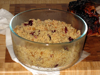 Cranberry & Red onion couscous