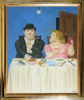 Botero - The Dinner - 1992