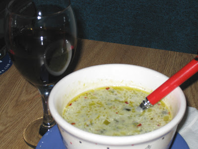 Leftover potato leek soup