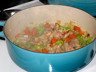 Stir to combine and continue browning