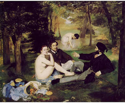 "Edouard Manet - ""The Picnic"""