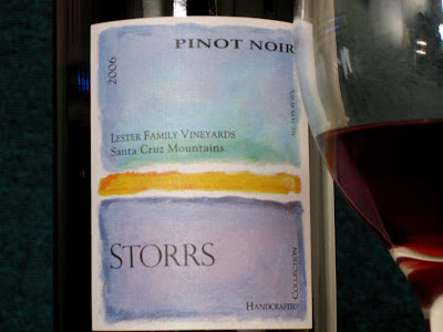 Storrs 2006 Lester Family Vineyards Pinot Noir