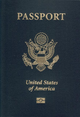 U.S Passport cover