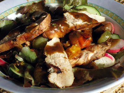 Organic chicken salad
