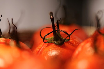 Baked cherry tomatoes - The Nut Tree