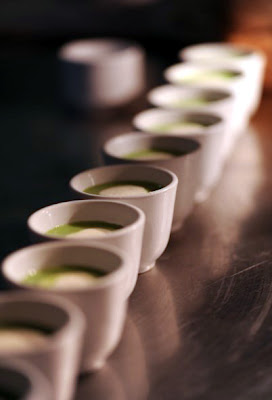 Purée of zucchini soup - The Nut Tree