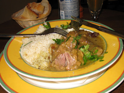Lamb stew - Le Gayridon