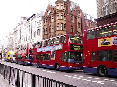Double-decker busses