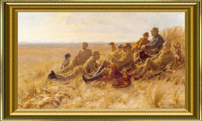 P.S. Krøyer - Skagens jægere (Skagen hunters), 1898