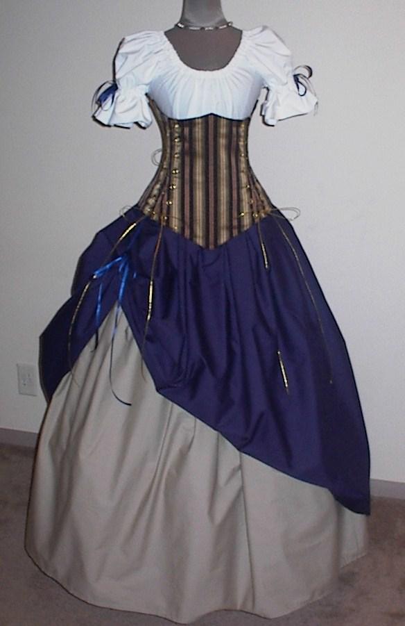 vestidos antiguos medievales