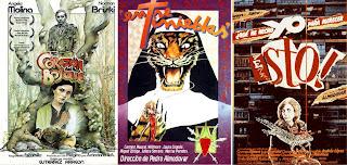 Varios ejemplos de sus carteles para el cine