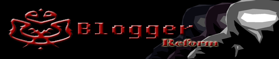BLOGGER REFORM