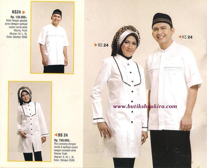 Koleksi Terbaru : Busana Muslim Sulam Etnik AZKA (*New)