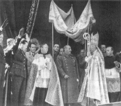 extrañas liturgias a las que nunca se opuso el cardenal Rouco