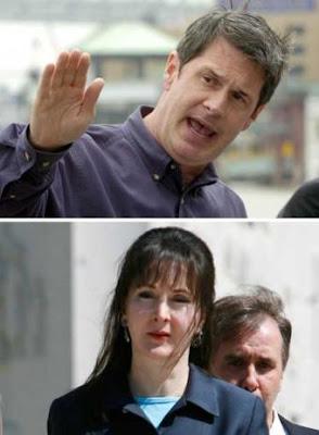 El senador David Vittier y Deborah Palfrey-