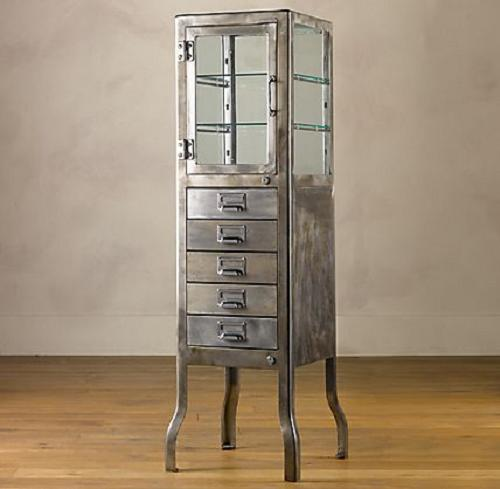 Restoration Hardware: Pharmacy Bath Cabinet With Drawers