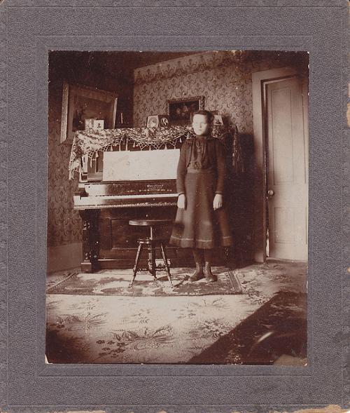 Fin de siècle Interior circa 1900 from Leigh McKinnon