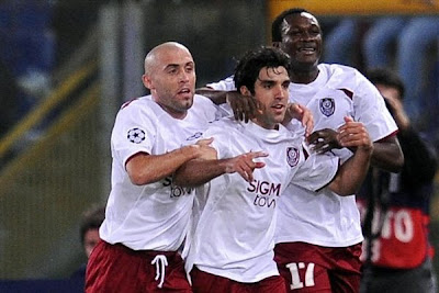Newcomers CFR catch Roma cold