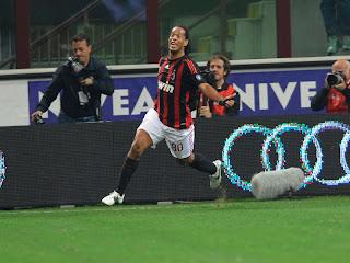 Ronaldinho - Milan-Inter - Serie A (Grazia Neri)