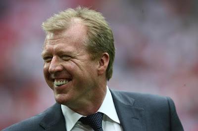 UEFA 2008 Qualifying: Steve McClaren , England