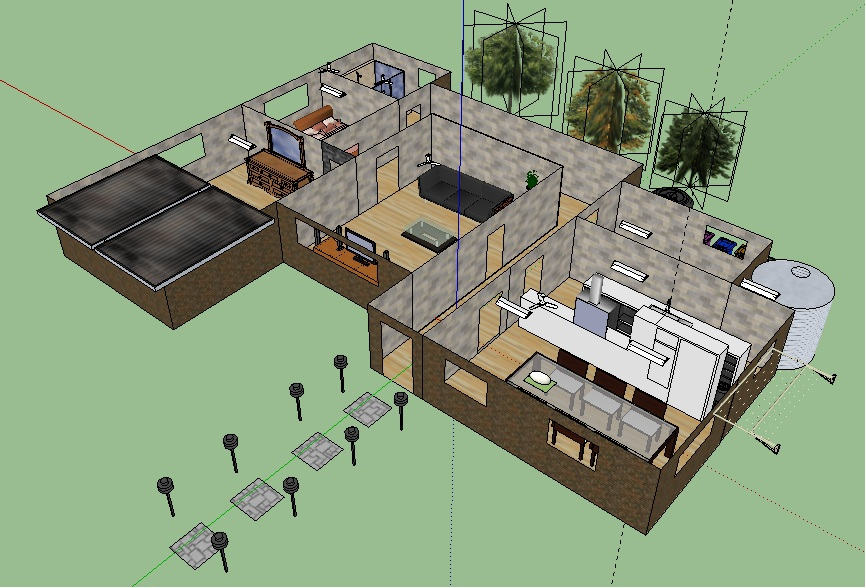 The Good Work Stamp Google Sketchup