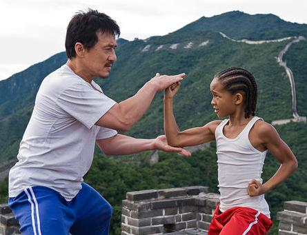 But in this version, the boy, Dre, moves to China with his mom (Taraji ...