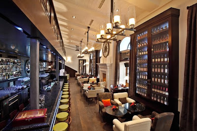 Luxury - Classic Interior Restaurant GQ In Moscow