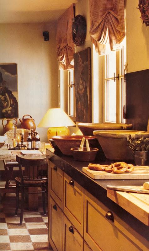 El Estilo Toscano. La Cocina.