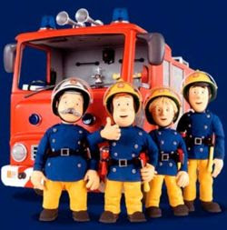 brandmand sam sangtekst dansk