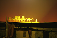Dubai - Al Hadheerah Desert Restaurant Camel Show