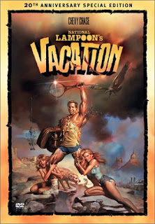 National Lampoon Vacation with Chevy Chase Video Film Jacket
