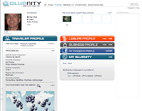 Air France Bluenity Social Media Site