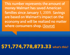 Walmart Saves Customers