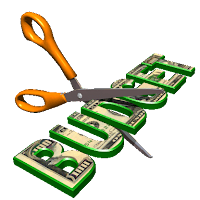 Budget Cuts Scissors