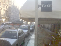 Taxi Stand Gare du Nord, Paris