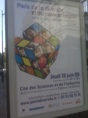 Diversite a Paris et du Premier Emploi