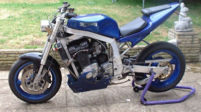 Custom Suzuki GSXR 1100 Street Fighter