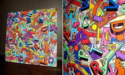 Art Of Painting, Graffiti Alphabet Letters, Graffiti Alphabets, Graffiti Fonts