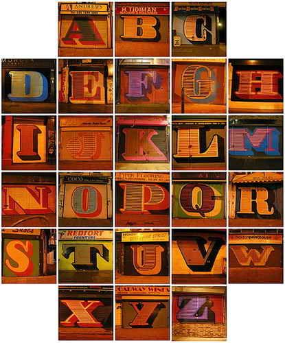 alphabet letters fonts. Alphabet Letters A-Z