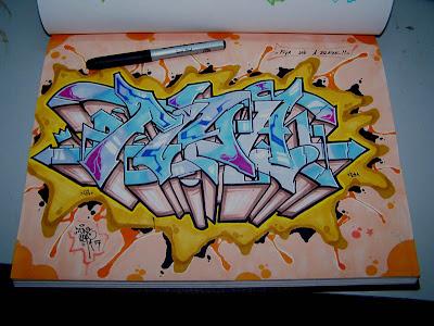 wallpaper graffiti 3d. 3d wallpaper graffiti.