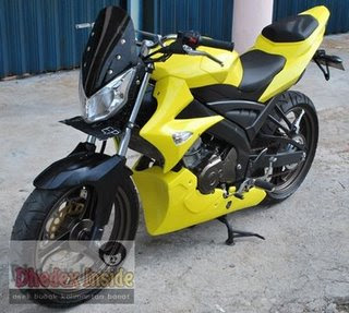 Modification Yamaha Vixion