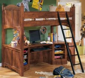 ashley furniture bedroom and computer desk showroom