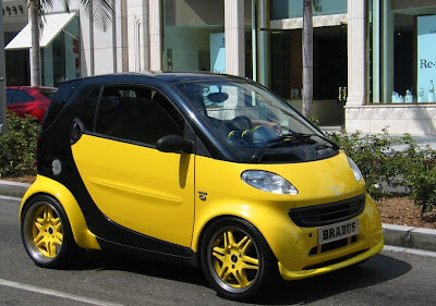 Smart Car Body Kit Yellow