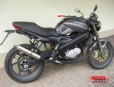 New Motorcycle Limited Edition: Motor Touring: Cagiva Raptor 125 2006