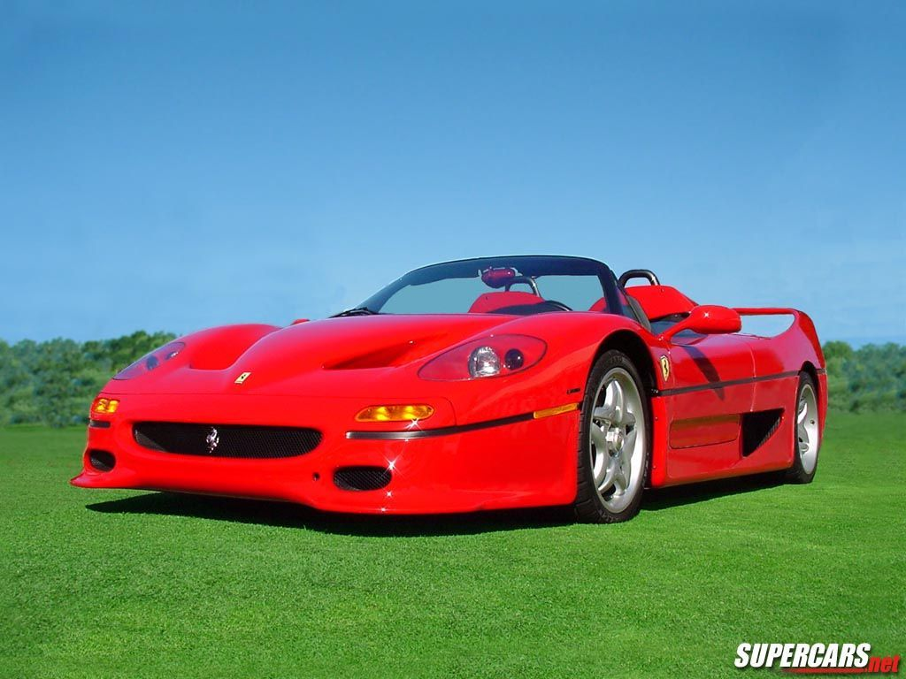 Ferrari F50 Wallpaper: Ferrari Drawings