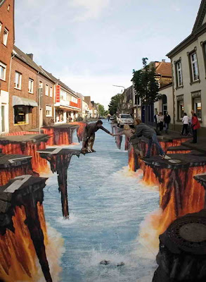The Art Of Street Painting Amazing