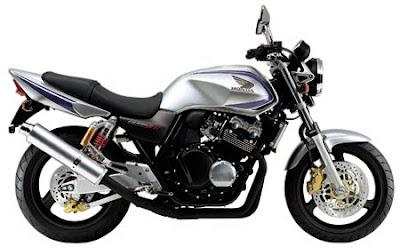 Honda CB 400 SF Vtec Motor Touring